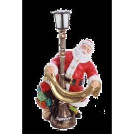 Santa Claus with a sash