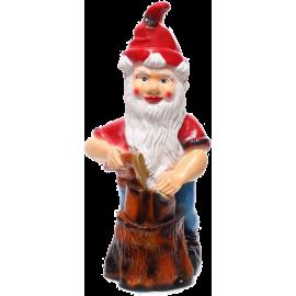 Gnome the lumberjack