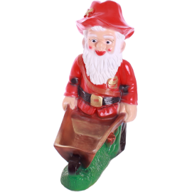 Gnome with a barrow