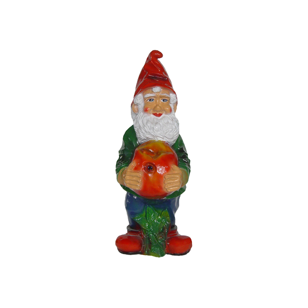 Gnome with an apple