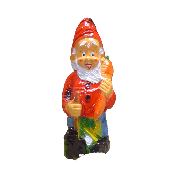 Gnome with a carrot