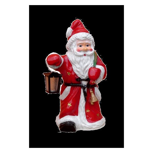 Santa with a lamp