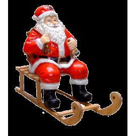 Santa Claus on the sledge