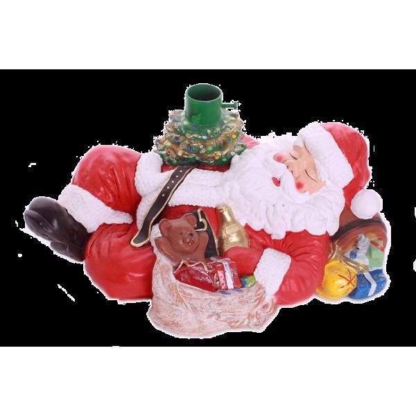 Santa Claus stand
