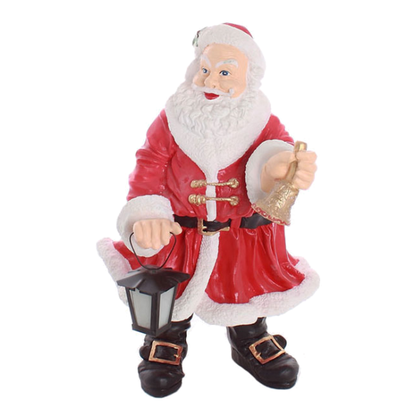 Santa with a bell