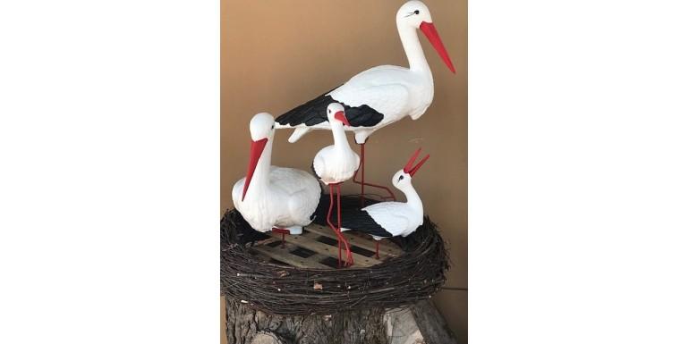 4 Storks