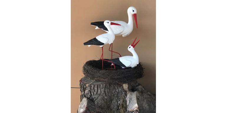 3 Storks